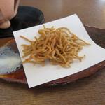 食彩工房 そばの華 - 揚げ蕎麦