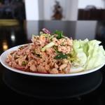 タイ料理889 - ラープガイ(激辛)