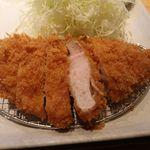 長津田農場 - 和豚もちぶたロースかつにご飯セット