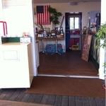 パームビーチ カフェ - 入り口から
