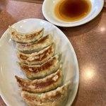 78781017 - 焼餃子(中華三点セット)