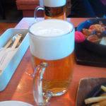 不二家レストラン - 550円相当の生ビールは大ジョッキ並み!?