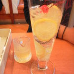 不二家レストラン - はちみつレモンサワーは酢っばさ引き立つ