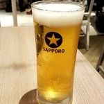 カレー食堂 心 - 生ビール:300円