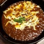 カレー食堂 心 - 3種のチーズ焼きカレー