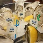 oisuta-ba-jakkupotto - 生牡蠣