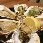 oisuta-ba-jakkupotto - 焼き牡蠣