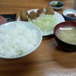 多け乃 - カキフライ定食(1080円)