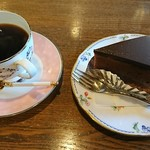 モミの木 - ブレンドコーヒー☆ザッハトルテ