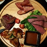 シュラスコ×国産和牛 肉ROCK - 肉バルプレート \1980