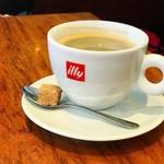 Les deux Bleue - ホットコーヒー