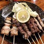関東風串焼 忠孝 - 串焼きセット(塩)