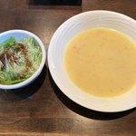ぱぴー - 2017.12.4  サラダ&スープ