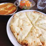 インド・ネパール料理 エベレスト - チーズナンセット