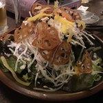 のりを - レンコンと大根のシーザーサラダ