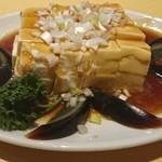 華都飯店 - ピータンと豆腐の冷菜