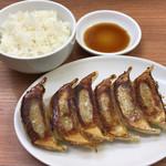 ラーメン神山 - Cセット(餃子+ライス)