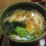 柿の葉寿し 柿吉 - 柿吉点心(煮麺)