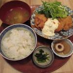 78790353 - 【ランチ】 チキン南蛮定食 \680(税別)