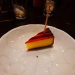 茶房 田渕屋 - 燻製チーズ サービス