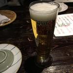 秋田きりたんぽ屋 - 生ビール