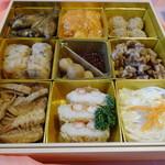 鎌倉山下飯店 - 2018年おせち弐の重