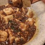 中華 こまめや - 四川麻婆豆腐ランチ