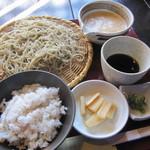 蕎舎 - [せいろ」と「麦とろ飯」を!