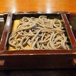 沙伽羅 - 三色もり 1400円 の福井産太打ち田舎もり