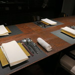 レンゲ - 29年12月 テーブルセッティング