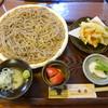 蕎香 - 料理写真:もり+かき揚げ