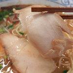 78800982 - あら焼き鶏白湯そば(750円)+半ライス(ランチタイムサービス)