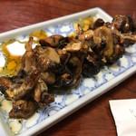 川勇 - 肝焼き 400円。うなぎもさることながら、この美味しさは秀逸です!