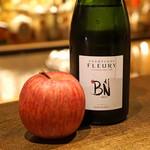 バー オーディン - 奇跡の林檎とシャンパンのカクテルはこれで作ります