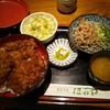ほていや - 料理写真:ソースカツ丼とおろしそばセット 1,000円