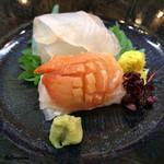 八重さわ - 鮃と本玉(赤貝)