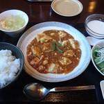 78806576 - 麻婆豆腐ランチ