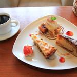 ビボバ - 料理写真:デザート3種盛り