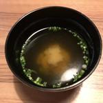 ダイワロイネットホテル - 味噌汁
