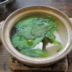 田吾作 - 手作り豆腐の湯豆腐