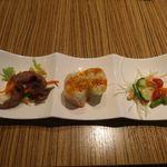シミラン - 前菜日替わり3種プレート