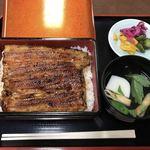 うなぎ・日本料理 ゑびす家 - 上鰻重 4000円(税込)