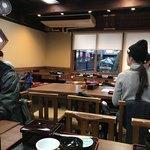 うなぎ・日本料理 ゑびす家 - 3時半頃の店内 やっとお客さんがひと段落