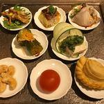 熱香森 - 前菜8種