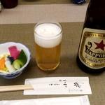 小柳 - ビール:600円