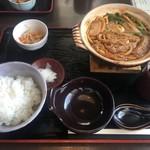 高倉庵 - 料理写真:味噌煮込みランチ
