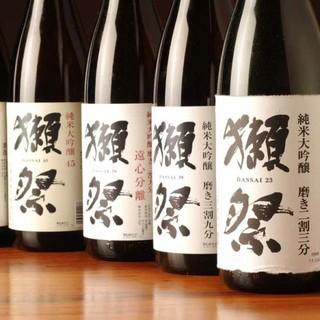 赤字提供!日替わり日本酒・焼酎!