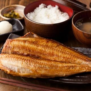 【こだわり米と極上干物】