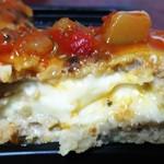 イーション バイ ケーステージ - チーズINハンバーグの断面