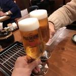 78813466 - 乾杯! ※生ビール518円(税込)